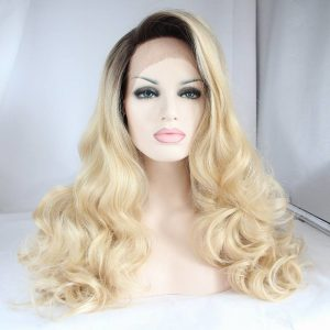synthetic lace frontal wigs