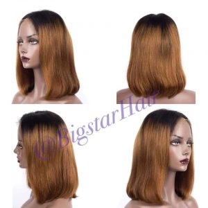 human hair lace frontal wigs