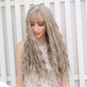 synthetic blond wigs